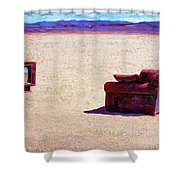 Reality T V Shower Curtain