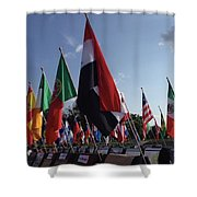 Realms Shower Curtain