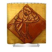 Reap - Tile Shower Curtain