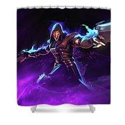 Reaper Overwatch Shower Curtain