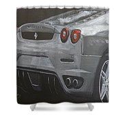 Rear Ferrari F430 Shower Curtain