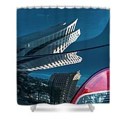 Rear Reflections Shower Curtain