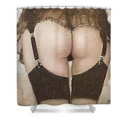 Rear View I Shower Curtain