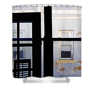 Rear Window 3 Shower Curtain