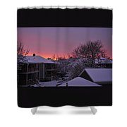 Rear Window To Surreal Shower Curtain