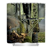Rearview Shower Curtain