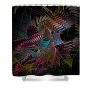 Reason And Virtue - Fractal Art Shower Curtain