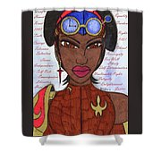 Reasons Of A Steampunk Liberator Shower Curtain