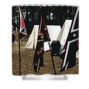 Rebel Camp Shower Curtain