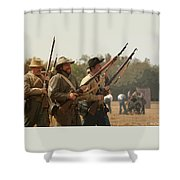 Rebel Charge Shower Curtain