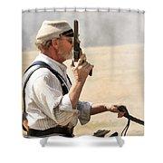 Rebel Rouser Shower Curtain