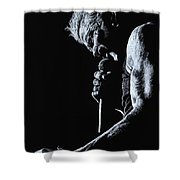 Rebel Yell Shower Curtain by Richard Young