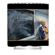 Rebirth Shower Curtain by Break The Silhouette