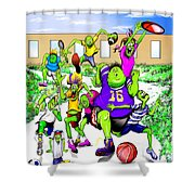 Recess Time Shower Curtain