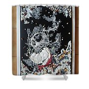 Corales 2 Shower Curtain