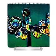 Reckless Abandon Shower Curtain