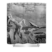 Reclined Shower Curtain