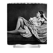 Reclining Nude, 1859 Shower Curtain