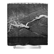 Reclining Nudes Shower Curtain