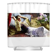 Reclining Odalisque Shower Curtain