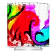 Recognition Shower Curtain