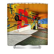 Recoleta Tunnel Shower Curtain