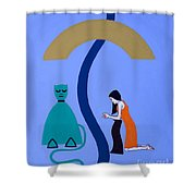 Reconciliation 2 Shower Curtain