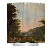 Reconciliation Of Jacob And Esau Shower Curtain