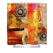 Reconstruction Abstract Shower Curtain