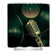 Recording Studio Art Shower Curtain