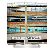 Records Storage- Nashville Photography By Linda Woods Shower Curtain
