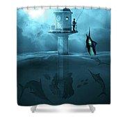 Recreational Activity Shower Curtain by Solomon Barroa