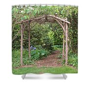 Recycled Arbor Shower Curtain