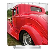 Red 1994 Shower Curtain