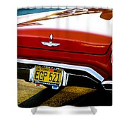 Red '57 T-brid Shower Curtain