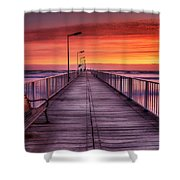 Mamaia's Gangway Shower Curtain