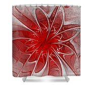 Red And Black  -f D- Shower Curtain