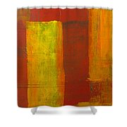 Red And Yellow #1 Shower Curtain