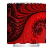 Red Ants Shower Curtain