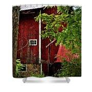 Red Barn 1 Shower Curtain