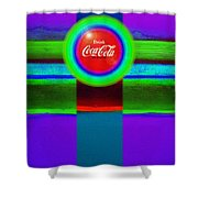 Red Brand Shower Curtain