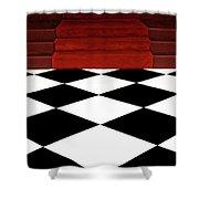 Red Carpet Treatment Shower Curtain