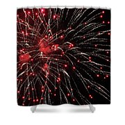 Red Cherries Shower Curtain