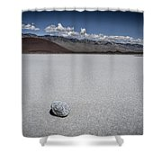 Red Cinder Cone Shower Curtain
