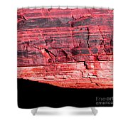 Red Cliff Shower Curtain
