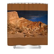 Red Cliffs Natural Preserve Shower Curtain