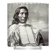 Red Cloud Chief Shower Curtain