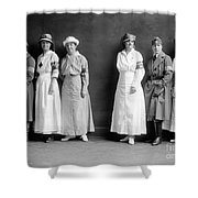 Red Cross Corps, C1920 Shower Curtain