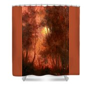 Red Dawn Ridgefield Refuge Shower Curtain