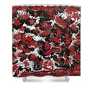 Red Devil U - Original Shower Curtain